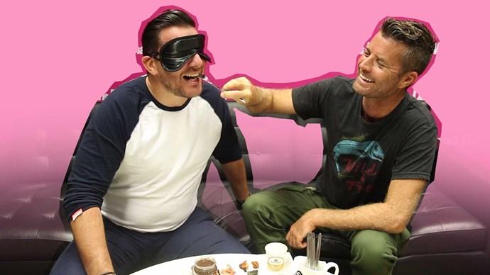 Pete and Manu's blind taste test