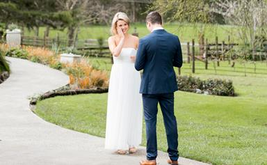 Married at First Sight NZ: It's all rainbows for Angel and Brett as they vow to stay together