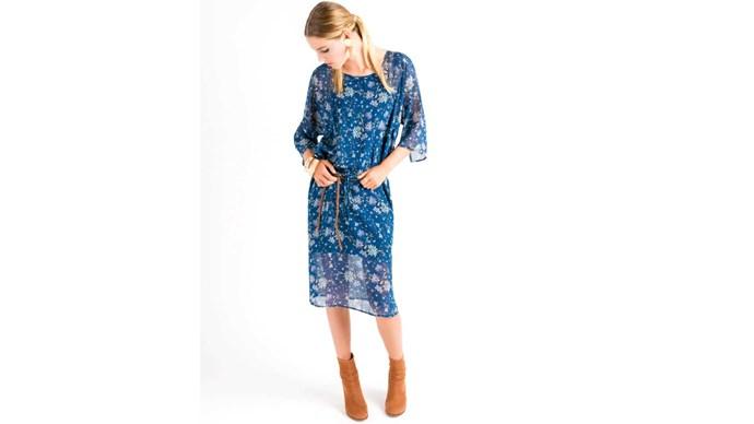 Dress, $190, by Stitch Ministry