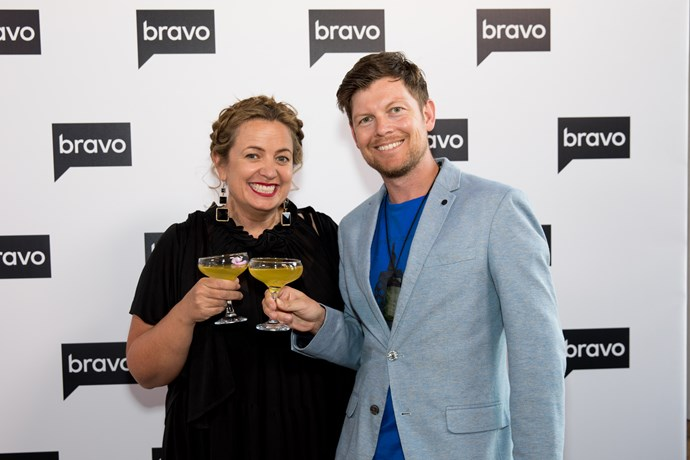 Woman's Day Editor Sido Kitchin and deputy editor Sebastian van der Zwan
