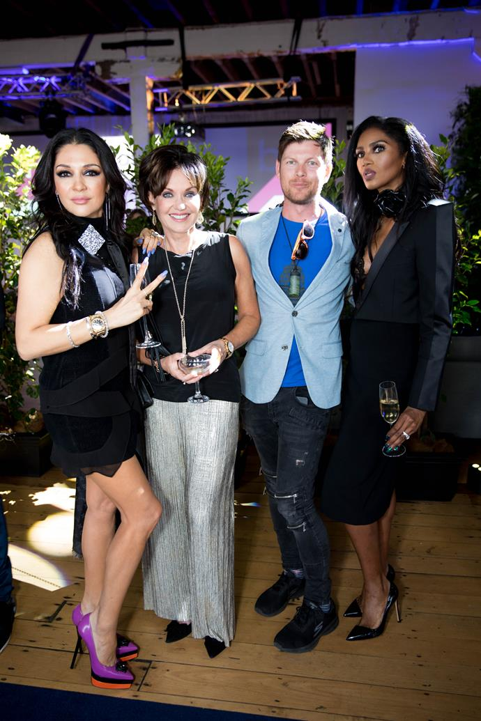 Real Housewives of Auckland Gilda Kirkpatrick, Louise Wallace, Deputy editor of Woman's Day Sebastian van der Zwan and Michelle Blanchard