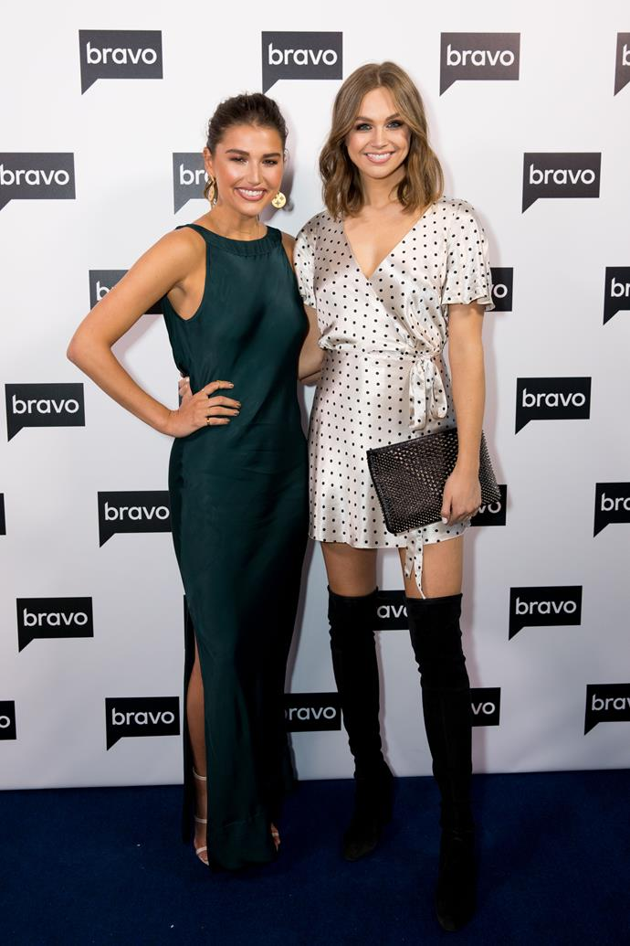 New Bravo host Cassidy Morris with E! Australia host Ksenija Lukich
