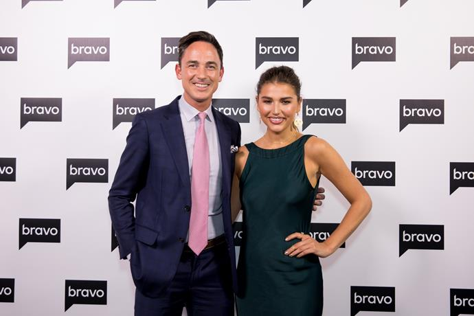 Dominic Bowden with the new Bravo host Cassidy Morris