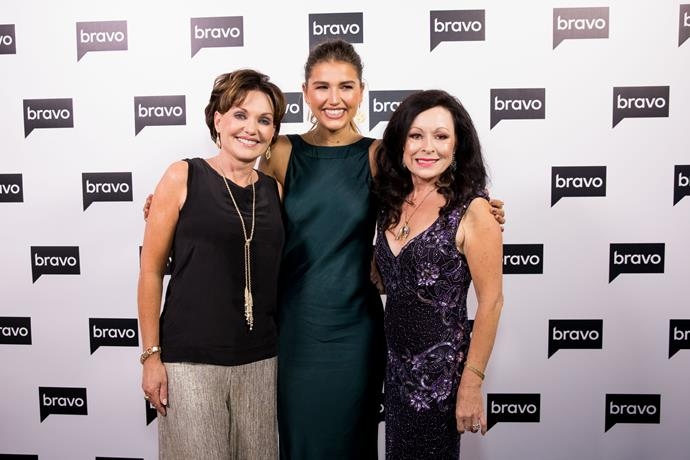 Louise Wallace, Cassidy Morris and Anne Batley-Burton