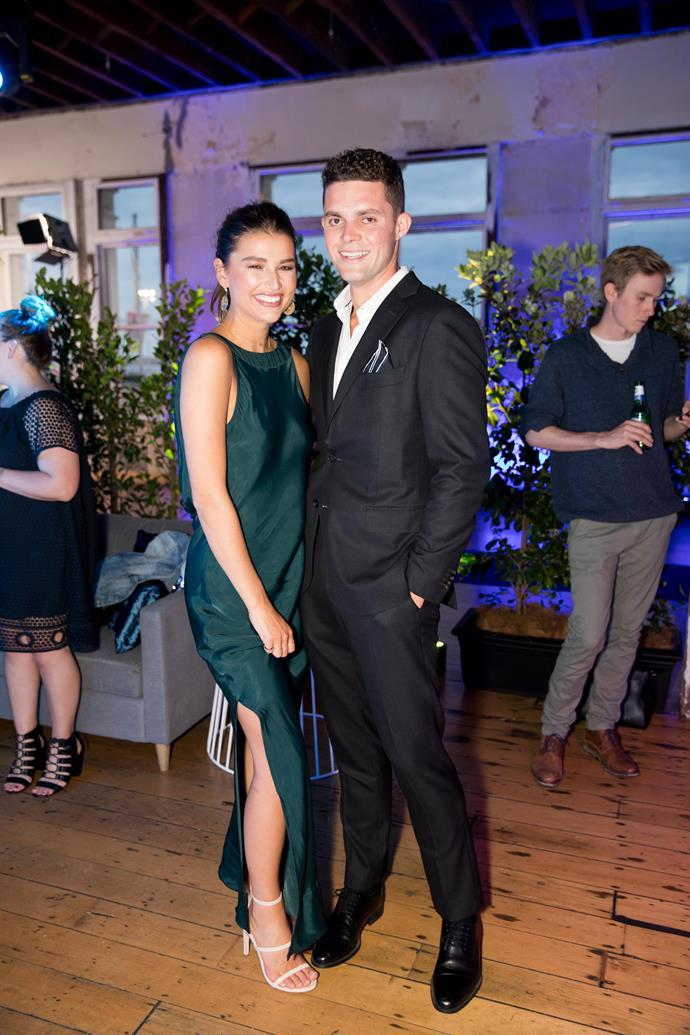 Cassidy Morris and boyfriend Luke Lockwood