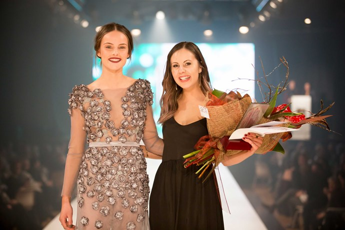 Gore District Council's Young Designer winner Abbey McMaster.