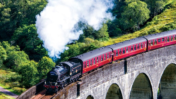 Discover Scotland's Highlands by rail