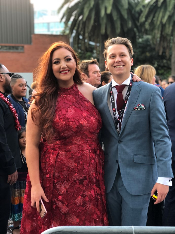 Megan Annear and Guy Mansell