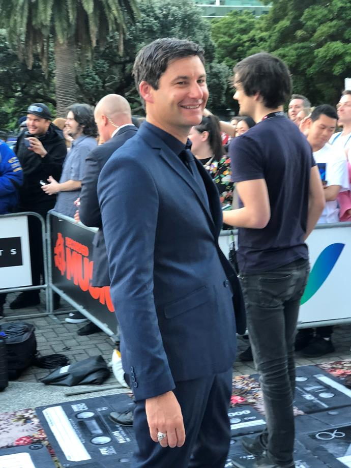 """**Clarke Gayford in Hallensteins**                                                                                                                                                               """"If I was Lorde for the day, I'd probably sit down with my newfound creative strengths and make some music. I would learn what it felt like to have a talent!"""""""