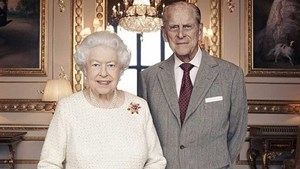 The royal family release new portrait to mark The Queen and Prince Philip's wedding anniversary
