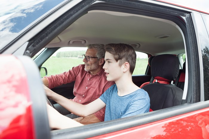 How to teach your teenager to drive
