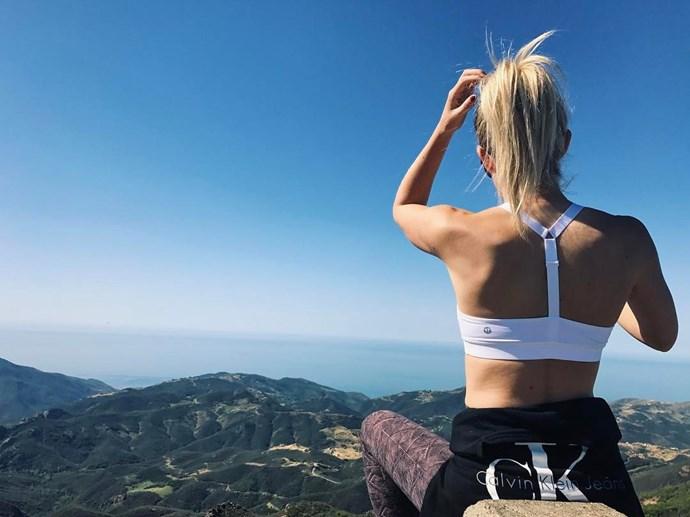 Matilda Rice talks fitness and stress