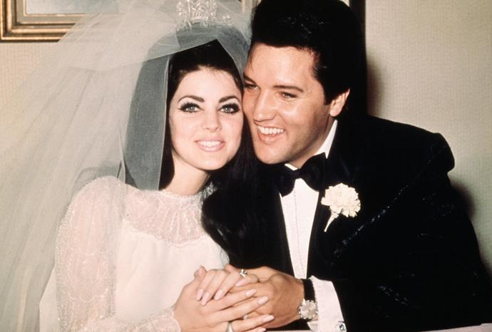Priscilla was a fresh faced 21-year-old when she married Elvis Presley in 1967.