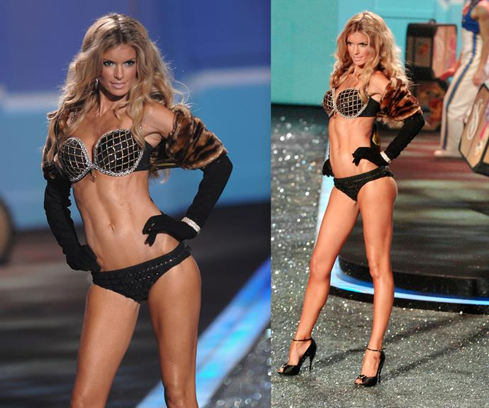 **2009:** Marisa Miller wore the Harlequin Fantasy bra worth $3 million.