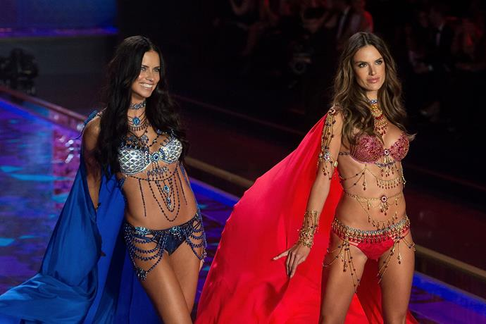 They wore the Dream Angels Fantasy bras worth $2 million each.