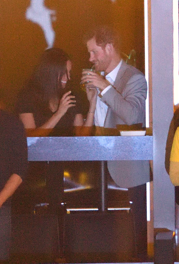 Meghan and Harry at the closing ceremony of the Invictus Games.