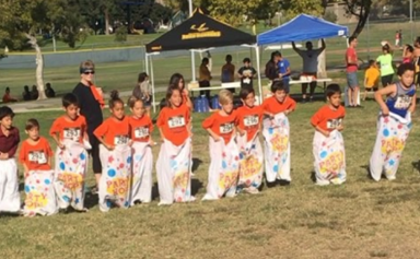 Octomum Natalie Suleman shares a video of her eight children on sports day
