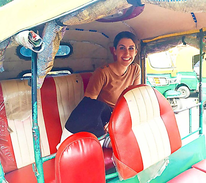 Nadine settles in for a bumpy ride in India as she delves into her murky family tree for *DNA Detectives*.
