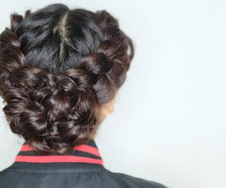 How to do a double Dutch braid in 5 easy steps