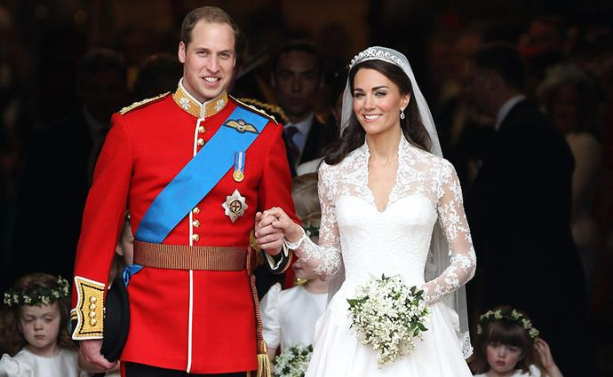 William and Kate's 2011 wedding was watched by an estimated 2 billion people worldwide.