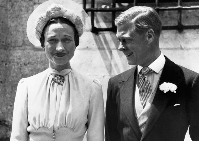 King Edward VIII became the first British king to abdicate the throne after his decision to marry American divorcee Wallace Simpson.