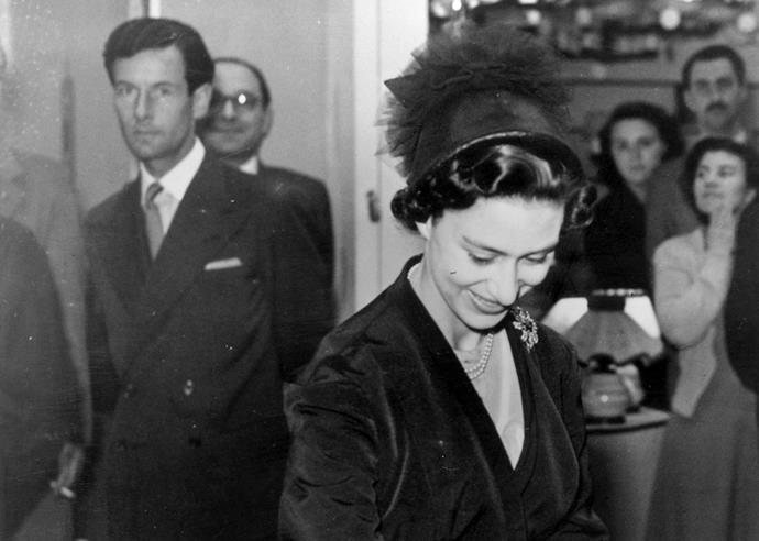 Group Captain Peter Townsend and Princess Margaret