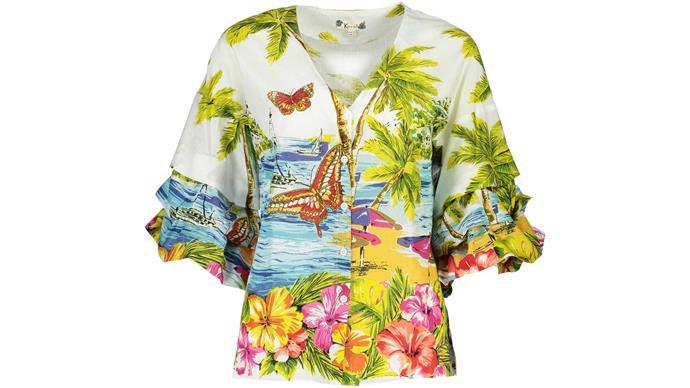 Shirt, $145, by Ketz-ke.