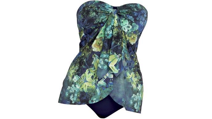 Swim dress, $133, by Simply Wonderful Clothes.
