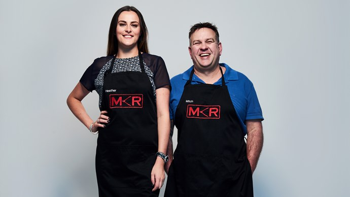 They were portrayed as the villains on MKR NZ – but runners up Heather and Mitch wouldn't change a thing