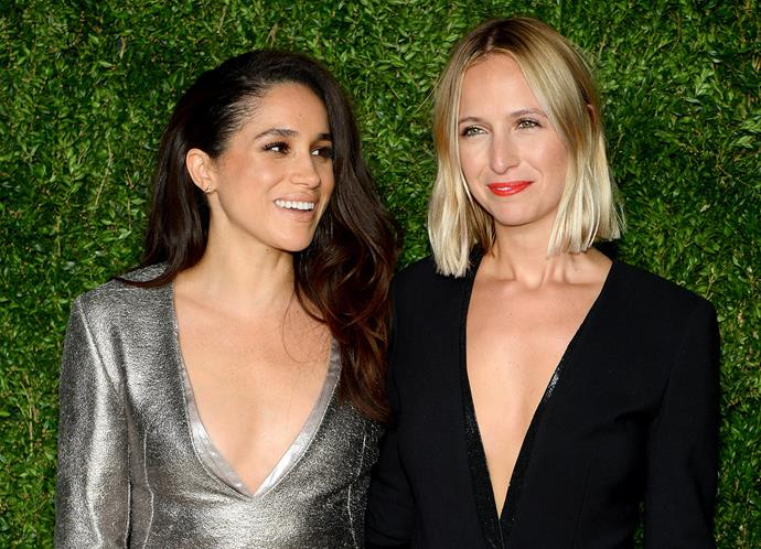 Meghan and Misha at thel CFDA/Vogue Fashion Fund Awards in New York in 2015.