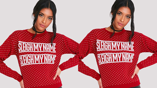 Christmas jumpers we can get behind