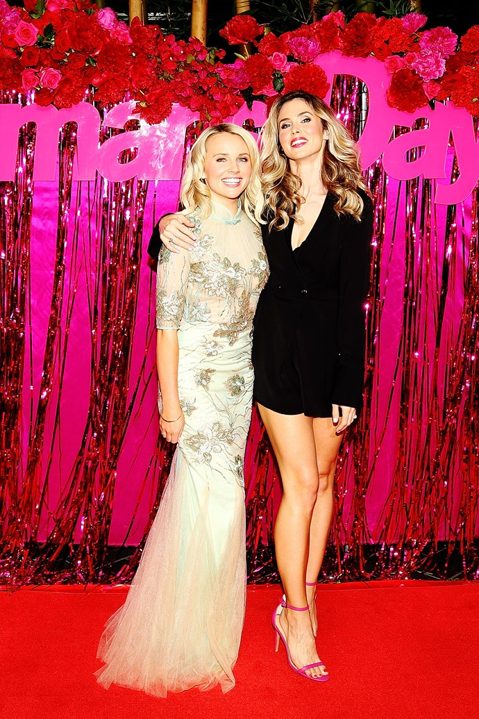 Kimberley Crosman and Anna Hutchison looking gorgeous (as usual) on the red carpet.