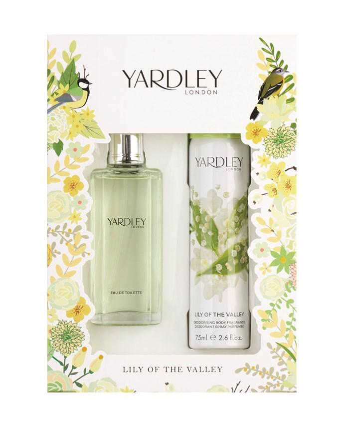 Win 1 of 15 Yardley Fragrance Packs!