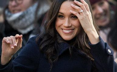 Prince Harry and Meghan Markle are the picture of happiness at their first joint royal engagement