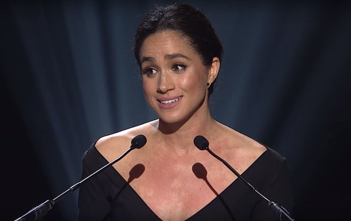 Meghan Markle speaks at the 2015 UN Women's Conference.