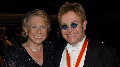 Elton John's mother dies just months after their eight-year feud ended