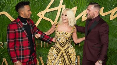 All the red carpet glamour from the 2017 Fashion Awards