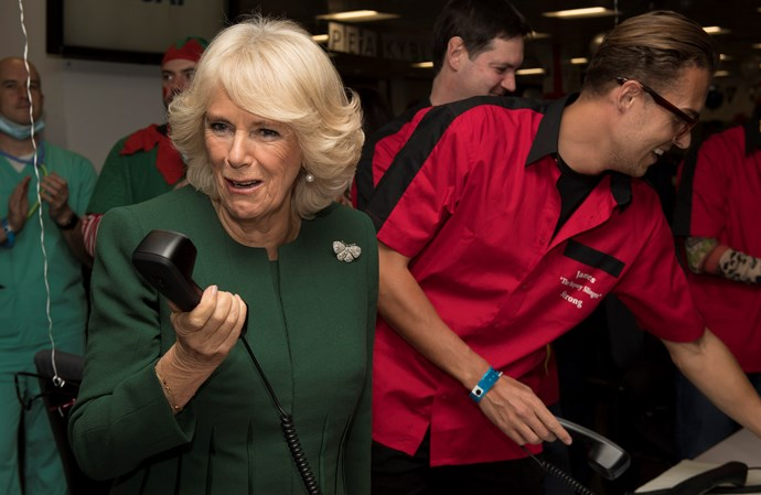'It's Charles – he just asked me to record Celebrity Big Brother for him!'