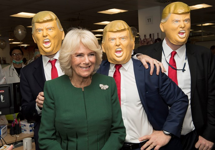 'I might suggest to Theresa May that we get an impersonator for the state visit rather than the real thing.'