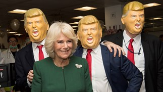 What on earth is Camilla Parker Bowles up to?