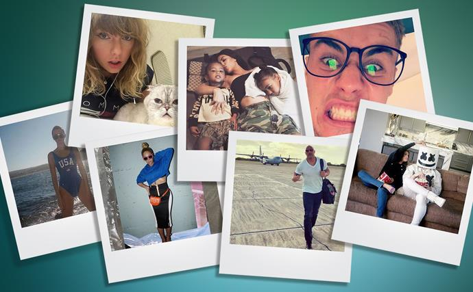 Instagram's most followed celebrities of 2017