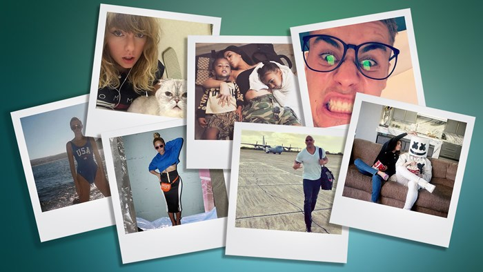Instagram's most followed celebrities of 2017