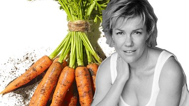 Robyn Malcolm sings the praises of veganism