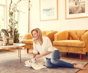The Block co-host Shelley Ferguson shows us around her home