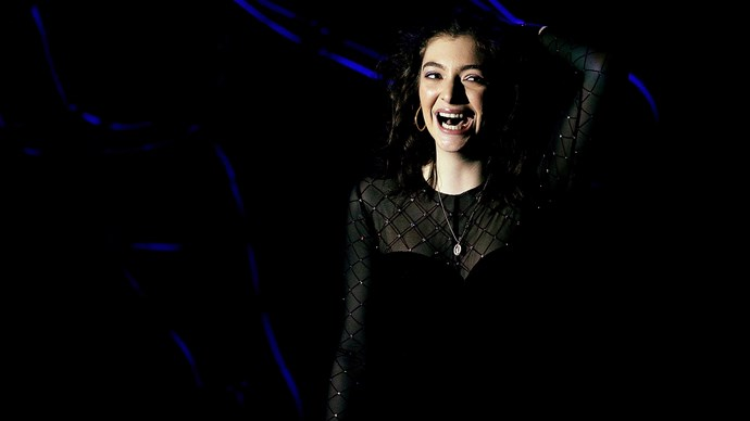 Lorde performs in Dunedin during her Melodrama World Tour in November.