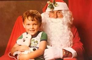 Kiwi celebs Christmas flashbacks