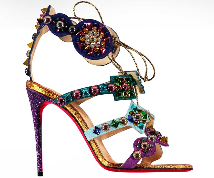 Christian Louboutin heels, $2,195, from David Jones.