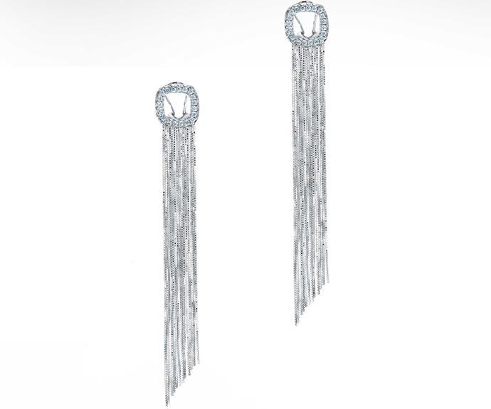 Earrings, $3,090, from Partridge Jewellers.
