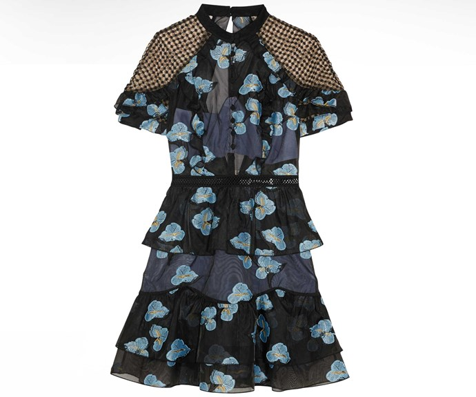 Self-Portrait dress, $595, from Muse.