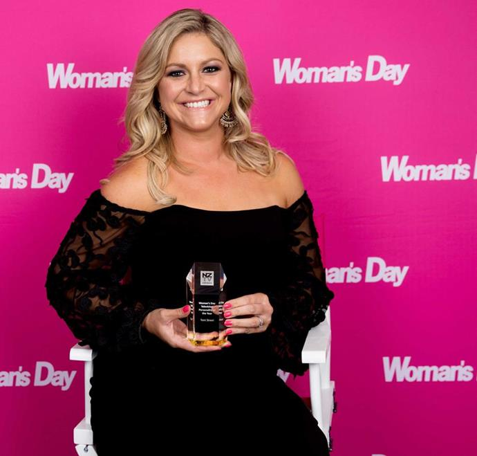 Toni Street, Woman's Day TV personality of the year.